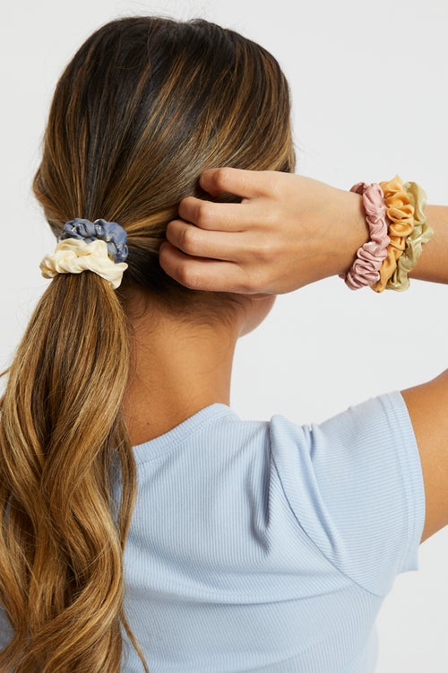6 Pack Mini Scrunchies