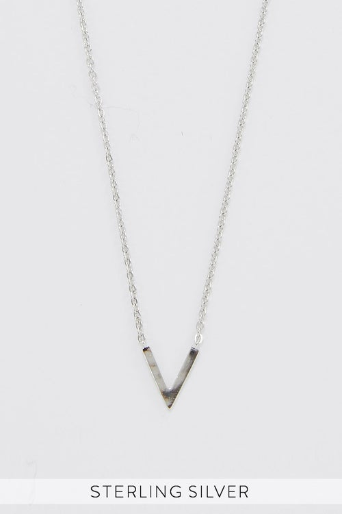 925 STERLING SILVER ALONE TOGETHER NECKLACE