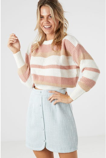 ALICIA STRIPE KNIT