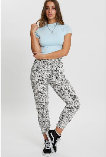Animal Print Relaxed Pant