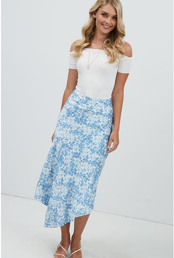 ASYMMETRICAL MAXI SKIRT