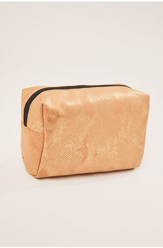 IRRDESCENT MAKE UP BAG