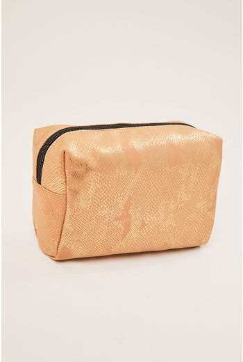 IRRIDESCENT MAKE UP BAG