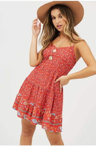 BILLIE BOHO DRESS