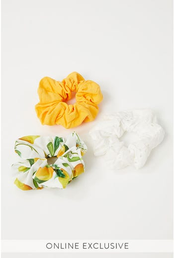 BITTER SWEET 3 PACK SCRUNCHIES