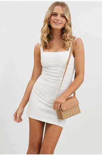 BODYCON PANEL DRESS