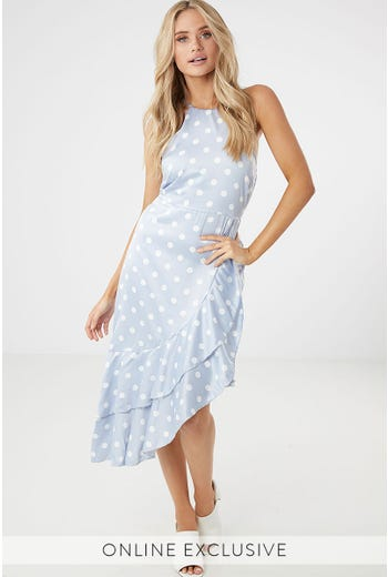 BRIELLE FRILL DRESS