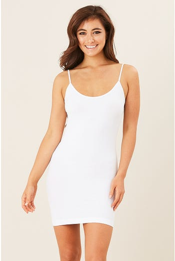 BASIC LONGLINE FITTED CAMI
