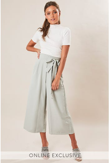 CAROLINA SIDE TIE CULOTTE