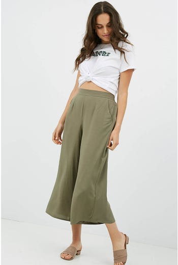 PULL ON RAYON CULOTTE