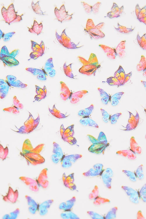 Butterfly Nails Stickers