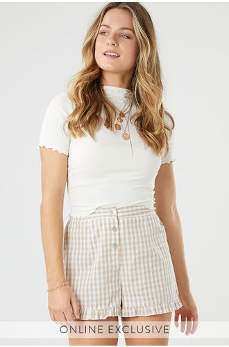 CARMEN GINGHAM SHORT