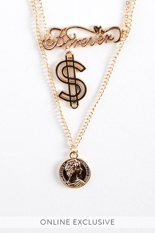 CASH NECKLACE