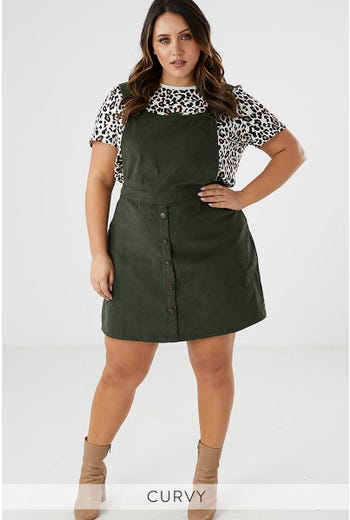JOANNA DUNGAREE DRESS