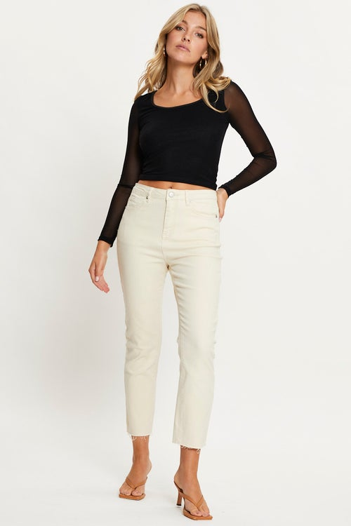 Crop Skinny Denim Jean