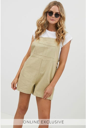 DAISY FRONT POCKET PLAYSUIT