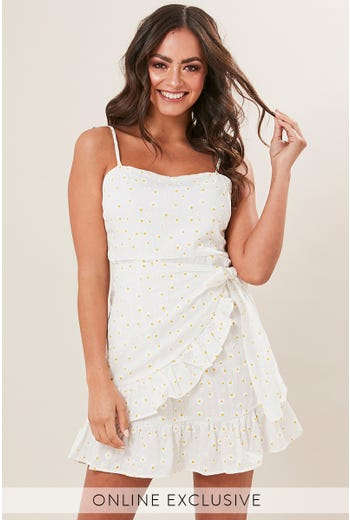 DAISY RUFFLE DRESS