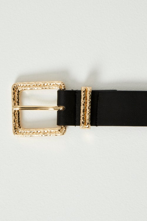 Decorative Square Buckle Belt