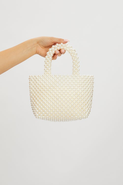 Designer Pearl Grab Bag