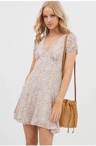 DITSY SKATER DRESS