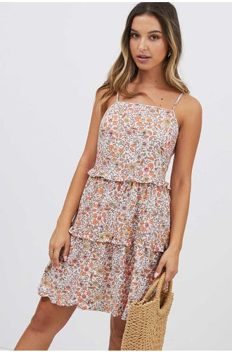 DITSY SWING DRESS