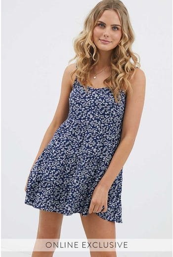 DITZY SWING DRESS