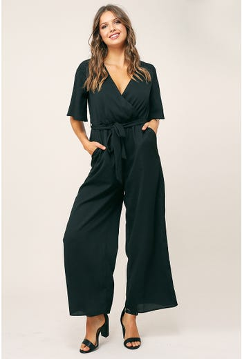 COLLAR DETAIL JUMPSUIT