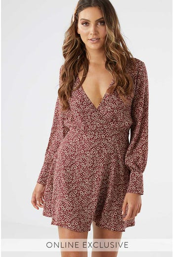 RYDER LONG SLEEVE DRESS