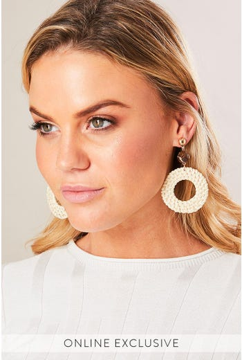 WHISPER WOVEN EARRINGS