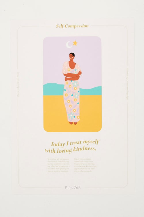 Eunoia Soul Ritual Self Compassion A4 Print Only