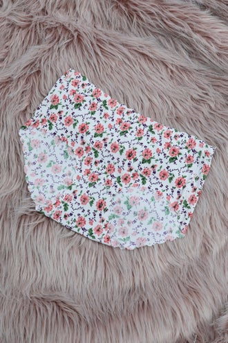 Floral Boyleg Brief