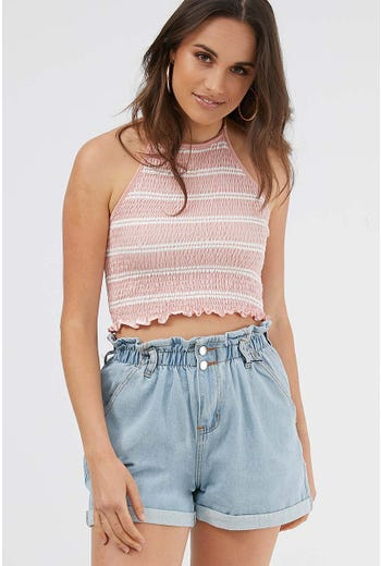 HALTER NECK TOP
