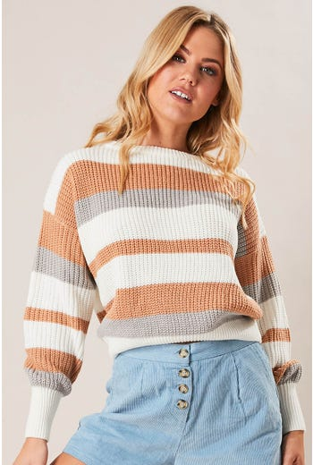 JASPER STRIPE KNIT