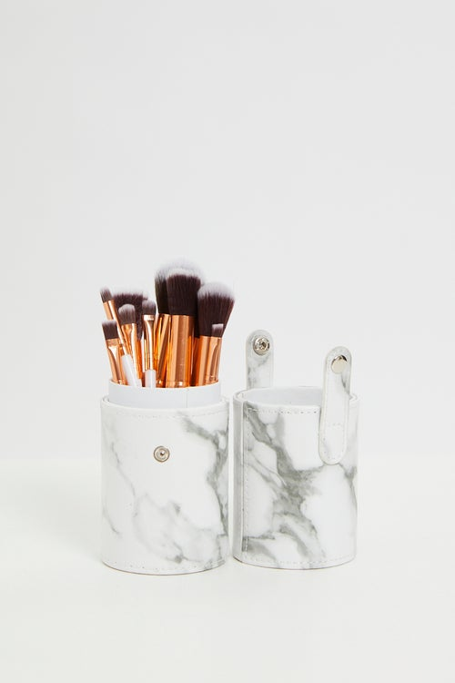 Marble 10 PCS Brush Set