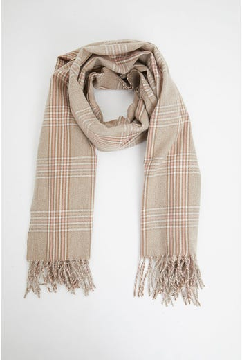 Nyla Rose Check Scarf
