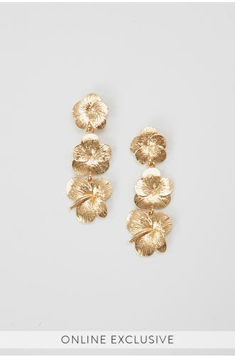 NYLA ROSE FLOWER GARDEN EARRINGS