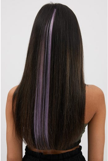 NYLA ROSE LILAC CLIP IN HAIR EXTENSION