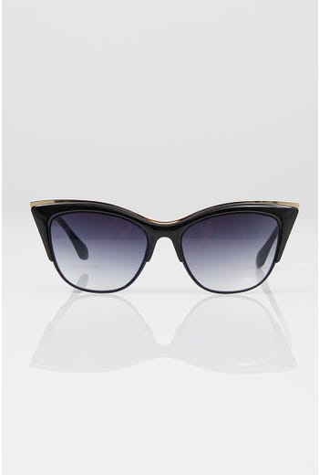 NYLA ROSE METAL RIM SUNGLASSES