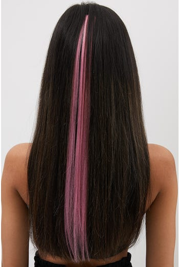 NYLA ROSE PINK  CLIP IN HAIR EXTENSION