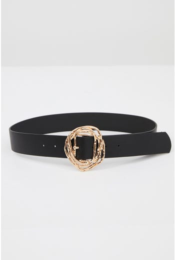 NYLA ROSE RING BUCKLE BELT