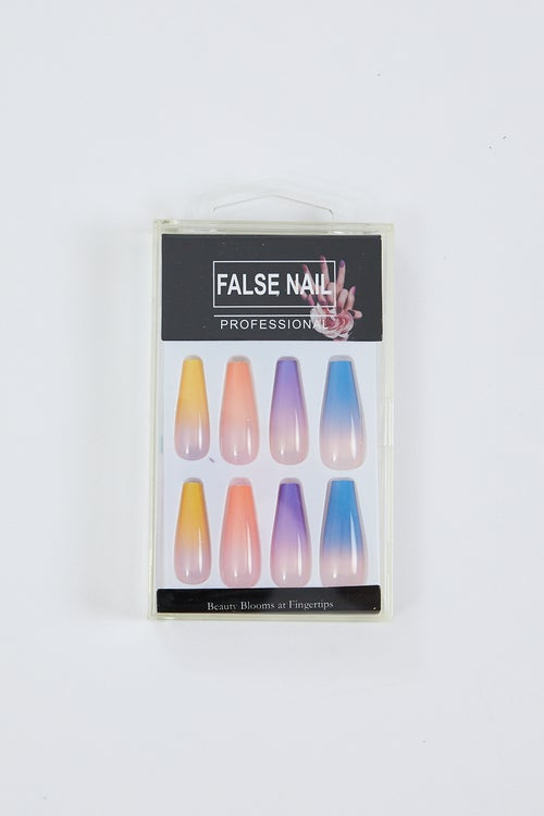 Ombre False Nails