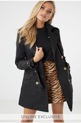 PRIESTLY TRENCH COAT