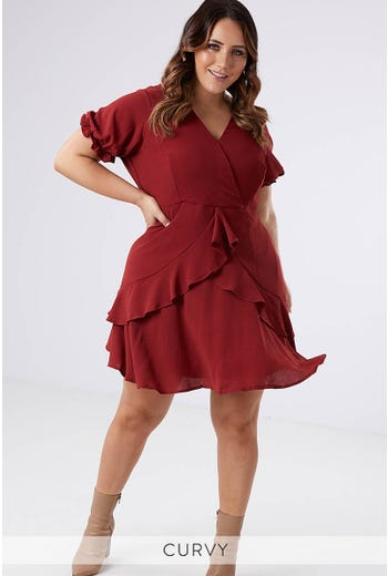 QUEEN OF HEARTS FRILL DRESS