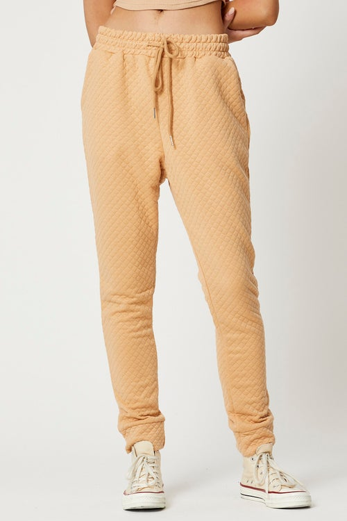 Quilted Lounge Jogger Pants