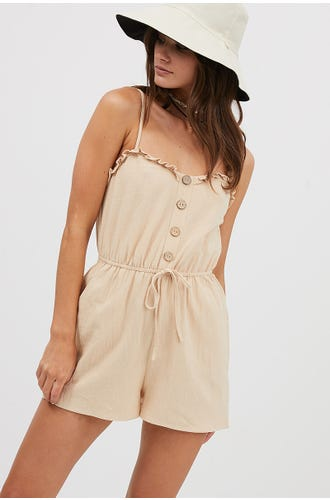 RUFFLE PLAYSUIT