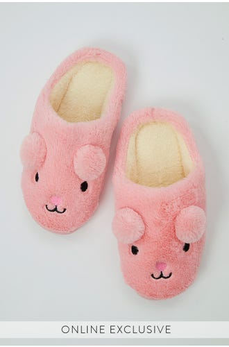 BEAR LOUNGE SLIPPERS