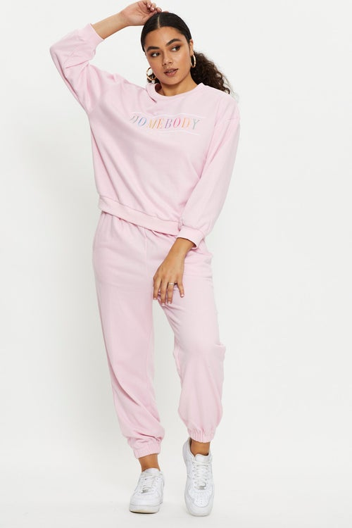 Slouch Track Pants