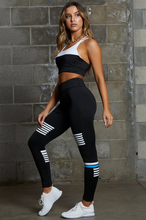 Stripe Detail Activewear Set