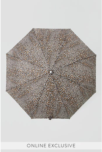 LEOPARD PRINT UMBRELLA
