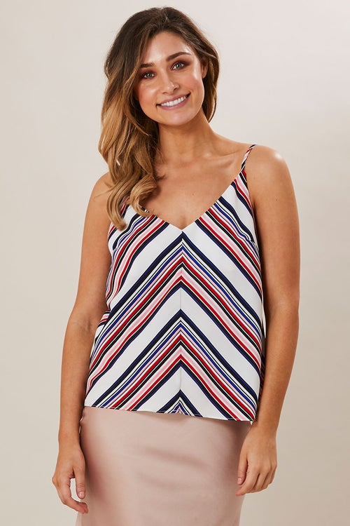 MULTI STRIPE CAMI